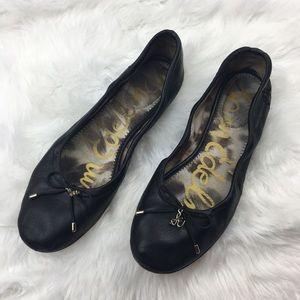 Sam Edelman   Black Felicia Ballet Flats 7.5